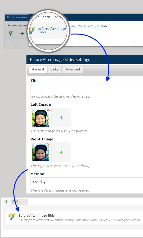 Before After Image/Content Slider for WordPress - 5